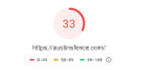 google speed test slow